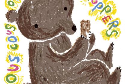 クスクスオーブンプラスホッパーズイラスト--マット和子